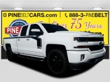 2017 Summit White Chevrolet Silverado 1500 LT Double Cab 4x4 #116287020