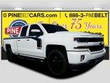 2017 Summit White Chevrolet Silverado 1500 LT Double Cab 4x4 #116287020
