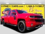 2017 Red Hot Chevrolet Silverado 1500 LT Double Cab 4x4 #116287019