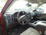 2017 Chevrolet Silverado 1500 LTZ Double Cab 4x4 Cocoa/Dune Interior