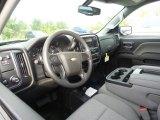 2017 Chevrolet Silverado 1500 WT Double Cab 4x4 Dark Ash/Jet Black Interior
