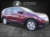 2014 Basque Red Pearl II Honda CR-V EX-L AWD #116287057