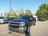 2017 Deep Ocean Blue Metallic Chevrolet Silverado 1500 LT Crew Cab 4x4 #116314320