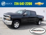 2017 Black Chevrolet Silverado 1500 LT Crew Cab 4x4 #116314248