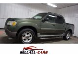 2002 Aspen Green Metallic Ford Explorer Sport Trac 4x4 #116313941
