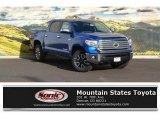 2017 Blazing Blue Pearl Toyota Tundra Limited CrewMax 4x4 #116313984