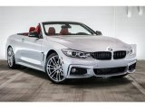 2017 BMW 4 Series Glacier Silver Metallic
