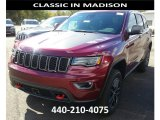 2017 Velvet Red Pearl Jeep Grand Cherokee Trailhawk 4x4 #116344123