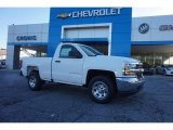 2017 Summit White Chevrolet Silverado 1500 WT Regular Cab #116344072
