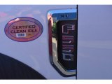 Ford F550 Super Duty Badges and Logos