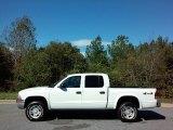 2004 Bright White Dodge Dakota SLT Quad Cab 4x4 #116343839