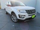 2017 White Platinum Ford Explorer XLT #116344018