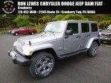 2017 Billet Silver Metallic Jeep Wrangler Unlimited Sahara 4x4 #116343924