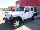 2016 Bright White Jeep Wrangler Unlimited Sport 4x4 #116369765