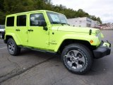 2017 Jeep Wrangler Unlimited Hypergreen