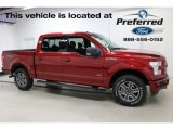 2016 Ruby Red Ford F150 XLT SuperCrew 4x4 #116369499