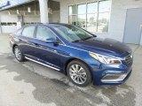 2017 Lakeside Blue Hyundai Sonata Sport #116369692