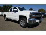2017 Summit White Chevrolet Silverado 1500 LT Double Cab 4x4 #116412006