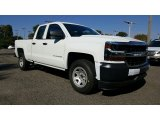 2017 Summit White Chevrolet Silverado 1500 WT Double Cab #116411999