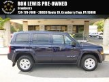 2014 True Blue Pearl Jeep Patriot Sport 4x4 #116412074