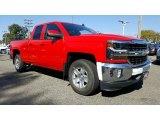 2017 Red Hot Chevrolet Silverado 1500 LT Double Cab 4x4 #116411986