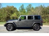 2017 Granite Crystal Metallic Jeep Wrangler Unlimited Rubicon Hard Rock 4x4 #116411949