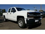 2017 Summit White Chevrolet Silverado 1500 WT Double Cab 4x4 #116411978