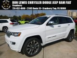 2017 Bright White Jeep Grand Cherokee Overland 4x4 #116412062