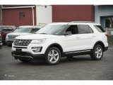 2017 Oxford White Ford Explorer XLT 4WD #116412108