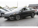 2017 Shadow Black Ford Fusion SE AWD #116412102