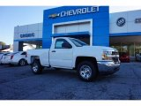 2017 Summit White Chevrolet Silverado 1500 WT Regular Cab #116433051