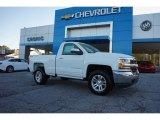 2017 Summit White Chevrolet Silverado 1500 LT Regular Cab 4x4 #116433049