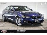 2017 Mediterranean Blue Metallic BMW 3 Series 330e iPerfomance Sedan #116433023