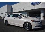 2017 White Platinum Ford Fusion SE #116432889