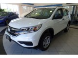 2016 White Diamond Pearl Honda CR-V LX AWD #116433139