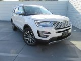 2017 White Platinum Ford Explorer Platinum 4WD #116433004