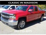 2017 Red Hot Chevrolet Silverado 1500 LT Double Cab 4x4 #116464173
