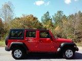 2017 Firecracker Red Jeep Wrangler Unlimited Sport 4x4 RHD #116463893