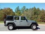 2017 Billet Silver Metallic Jeep Wrangler Unlimited Sport 4x4 RHD #116463892