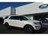 2017 White Platinum Ford Explorer XLT #116464049