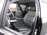 2017 Chevrolet Silverado 1500 LTZ Double Cab 4x4 Front Seat