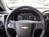 2017 Chevrolet Silverado 1500 LTZ Double Cab 4x4 Steering Wheel