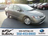 2006 Galaxy Gray Metallic Honda Civic Hybrid Sedan #116486998