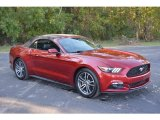 2016 Ruby Red Metallic Ford Mustang EcoBoost Premium Convertible #116487037