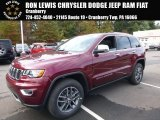 2017 Velvet Red Pearl Jeep Grand Cherokee Limited 4x4 #116486847