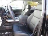 2017 Chevrolet Silverado 1500 LTZ Crew Cab 4x4 Dark Ash/Jet Black Interior