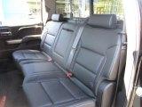 2017 Chevrolet Silverado 1500 LTZ Crew Cab 4x4 Rear Seat