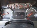 2017 Chevrolet Silverado 1500 LTZ Crew Cab 4x4 Gauges