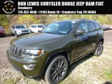 2017 Recon Green Jeep Grand Cherokee Limited 75th Annivesary Edition 4x4 #116486842