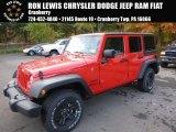2017 Firecracker Red Jeep Wrangler Unlimited Sport 4x4 #116486840